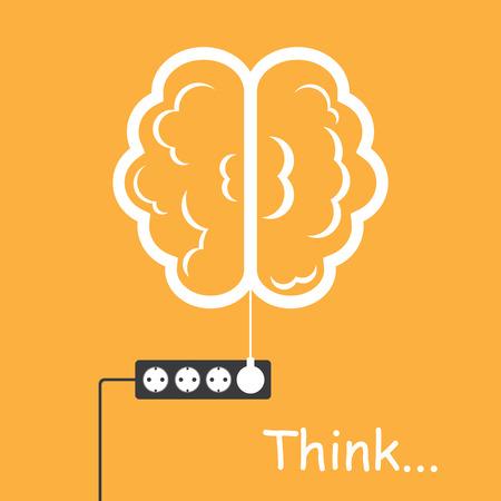 uaktywnić: Aktywuj swój mózg Ilustracja