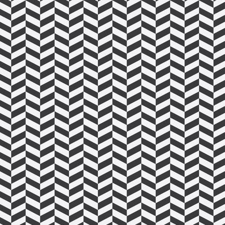 Seamless geometric chevron pattern Illustration