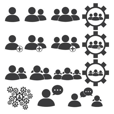 Mensen of zakelijke pictogram