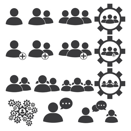 People or business icon