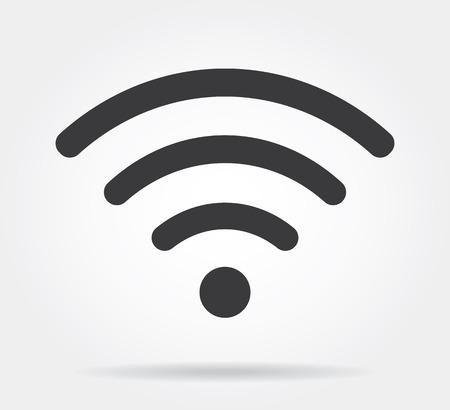 wifi sign: wifi icon Illustration
