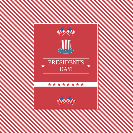 presidents day: Presidents Day vector illustration