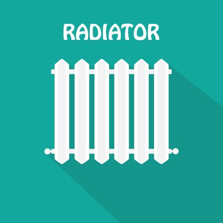radiador: Icono del radiador