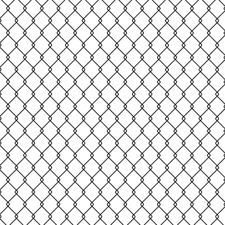 chainlink fence: Steel Wire
