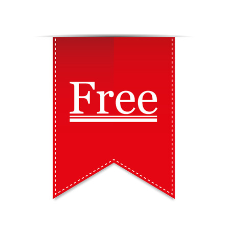 Banner Freie Produkt. Vektor Standard-Bild - 37866298