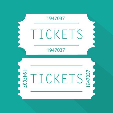Tickets icon Illustration