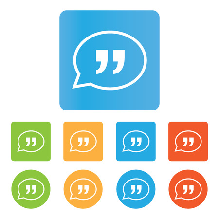 testimonials: Quote icon Illustration