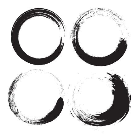 グランジのベクトルのロゴ  イラスト・ベクター素材