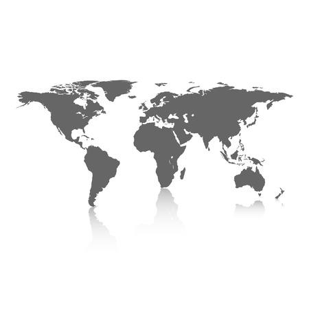 Carte du monde Banque d'images - 38627757