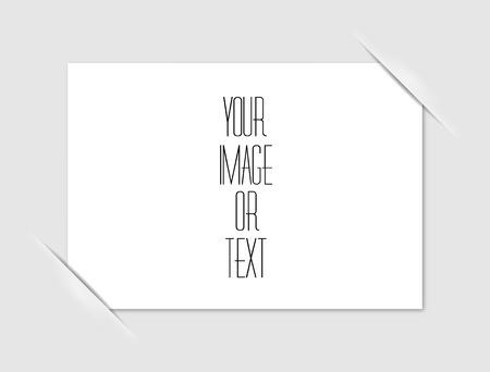 Composite empty page Illustration