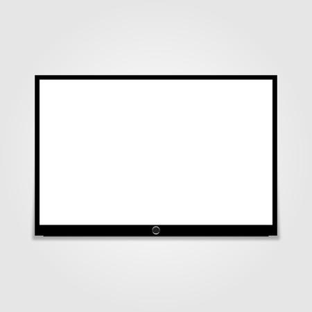 Led tv Vector