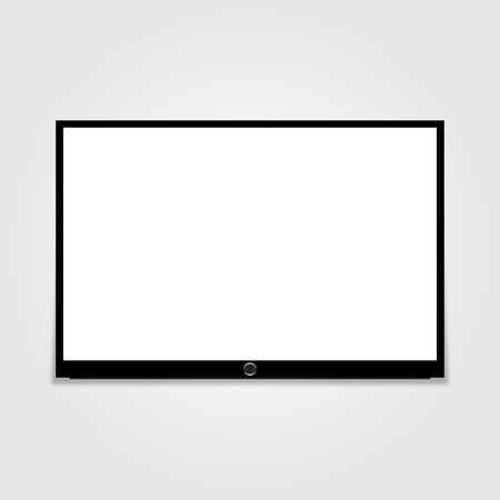 led: Led tv Illustration