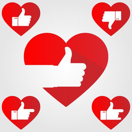 endorse: Thumb up heart