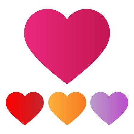 Amor del corazón Foto de archivo - 40444757