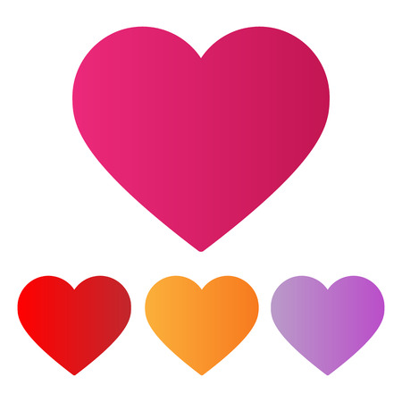 gestalten: Liebe Herzen Illustration