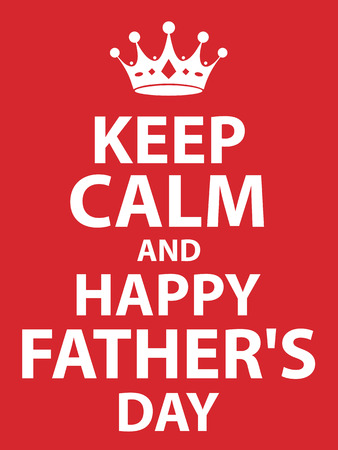 and father: happy fathers day card