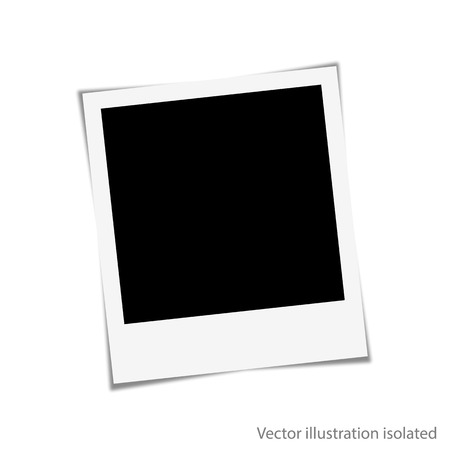 photo to your family photo album Vector