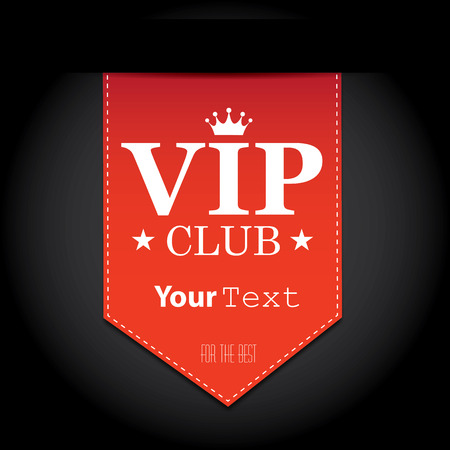membership: Vip club sign Illustration