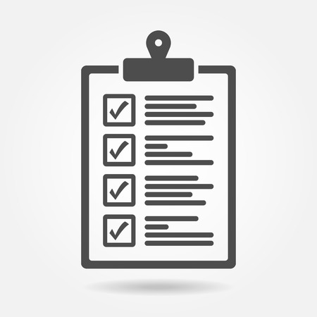 The checklist icon