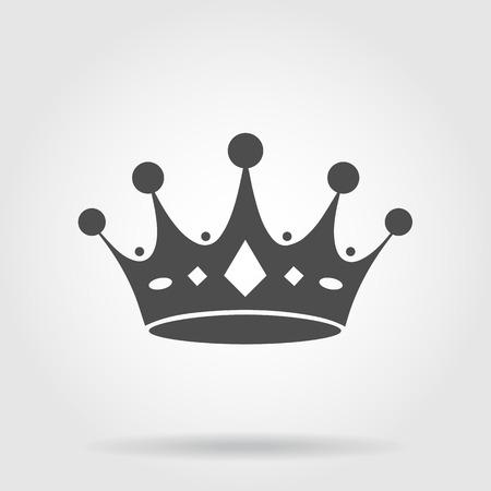 corona de reina: corona icono
