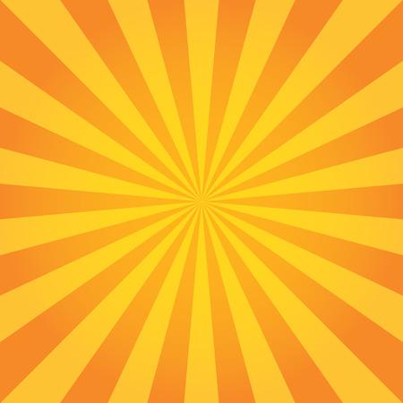 rayas de colores: Patrón Sun Sunburst. Fondo retro