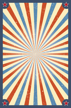 Vintage circus background for a poster Stock Illustratie