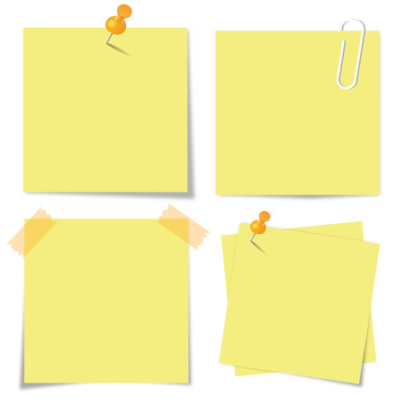 note pad: Sticky paper set