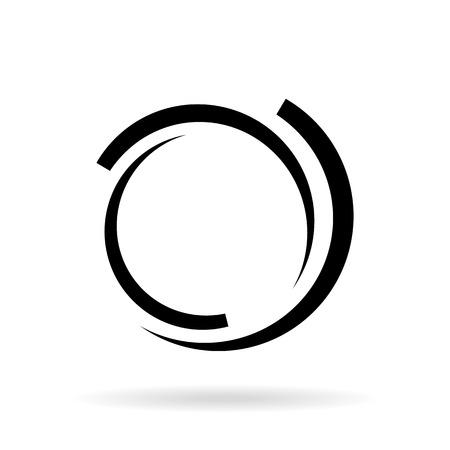 Lment de logo d'entreprise Résumé Banque d'images - 44564352