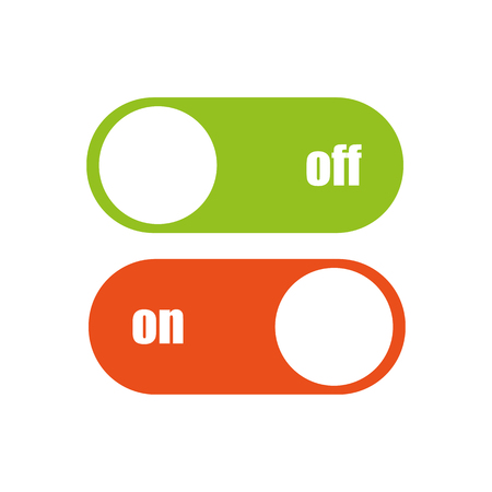 toggle switch: Toggle switch vector icon
