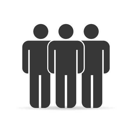 group people: Group people icons Illustration