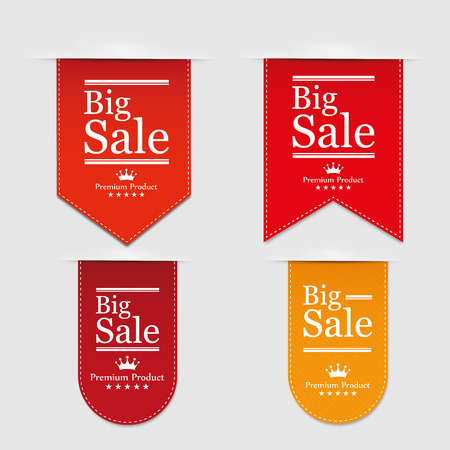 opening: Banner Big Sale. Vector illustration