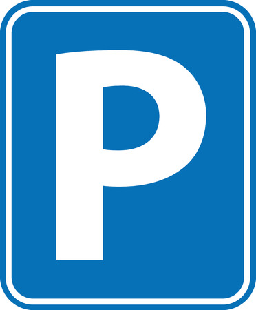 a lot: Parking Sign