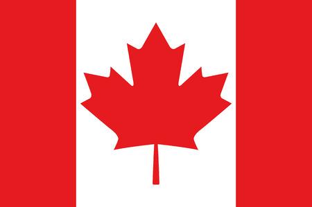 Canadese Vlag Vector Stock Illustratie