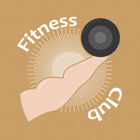 gram: Fitness Club logo Illustration