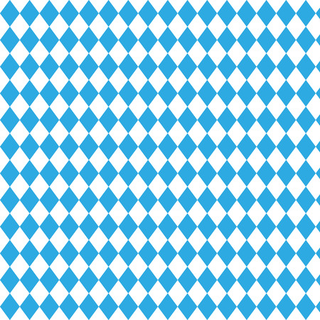 wiesn: Oktoberfest checkered background and Bavarian flag pattern