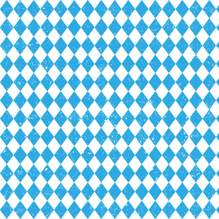 wiesn: Oktoberfest checkered background and Bavarian flag pattern