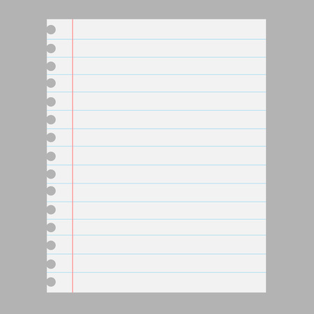 Paper sheet  イラスト・ベクター素材
