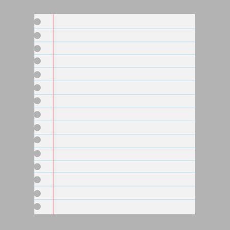 Paper sheet Vectores