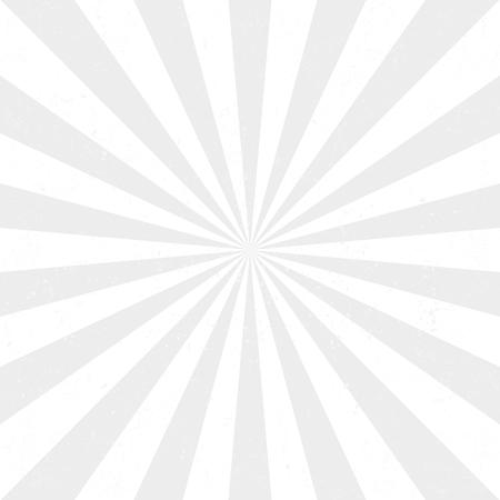 Zonnestralen. vector illustratie Stock Illustratie