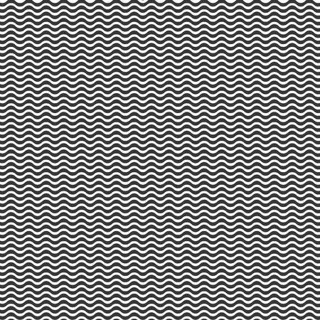 line pattern: Wavy line pattern vector illustration