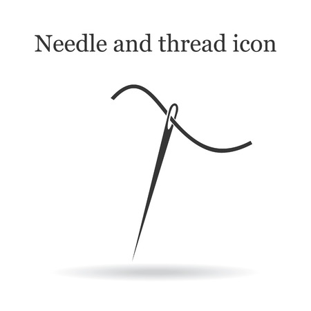 darn: Needle and thread icon