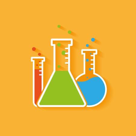 effervescent: Vector chemistry icon