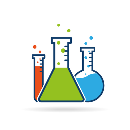 paramedical: Vector chemistry icon