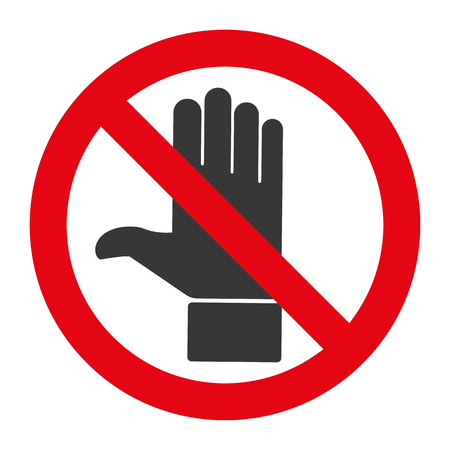 toque: Do not touch