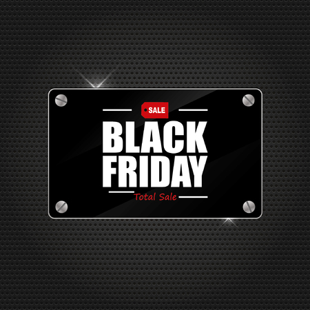 Black friday sale  イラスト・ベクター素材