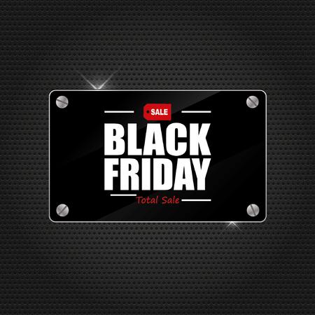 black friday: Black friday sale Illustration