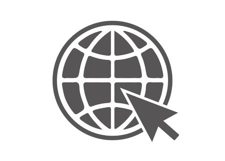 symbole: Site Web Icône Illustration
