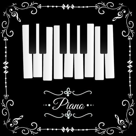 concert: Piano Illustration