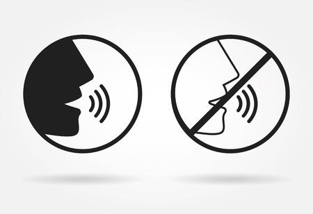 personas platicando: Icono Hablando