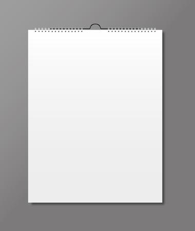 calendrier: Calendrier vierge, conception de cartes